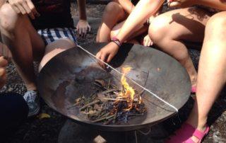 vuur maken activiteit
