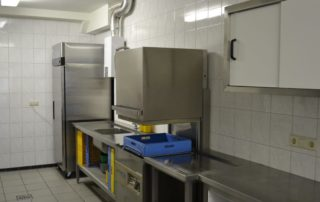 grote keuken groepsaccommodatie