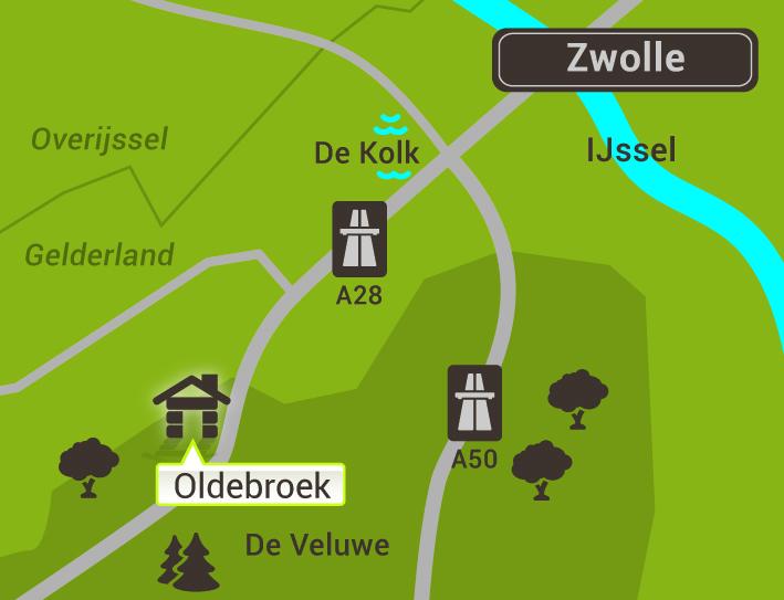 Het Buitencentrum Oldebroek - Plattegrond Oldebroek Zwolle