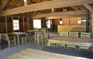 houten groepsverblijf